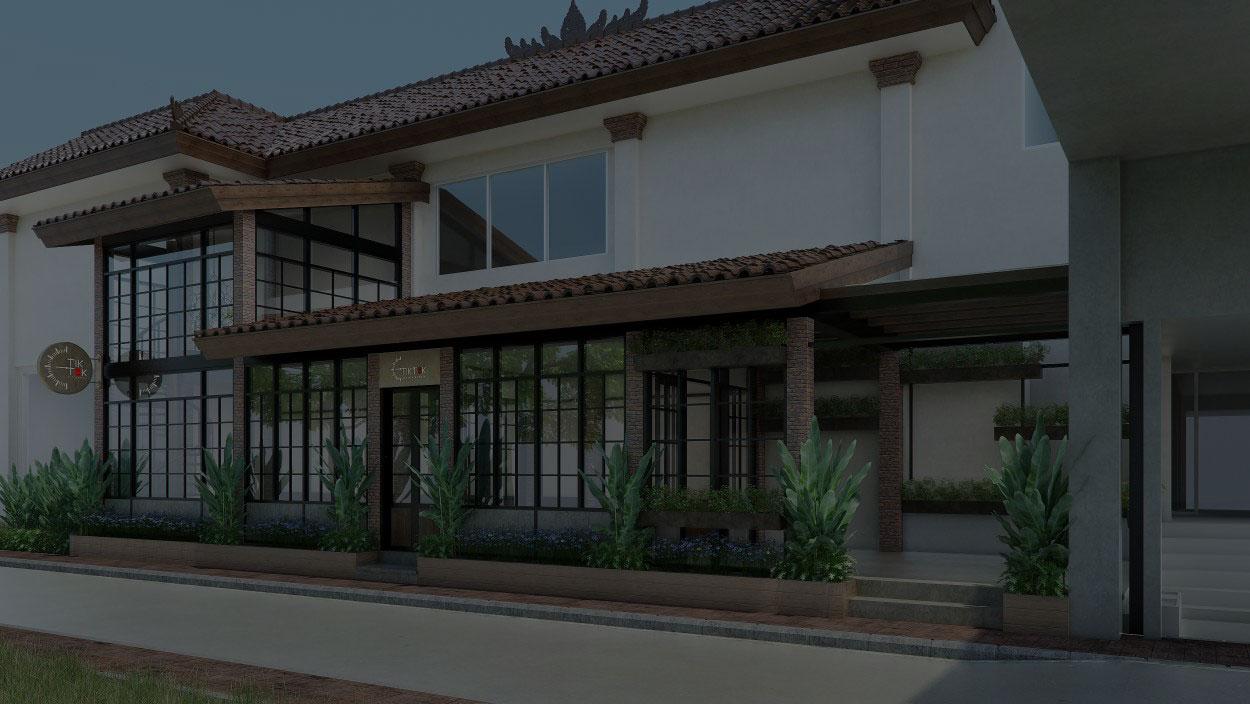 TIK-TOK Bali Galeria ATM Center Store Concept