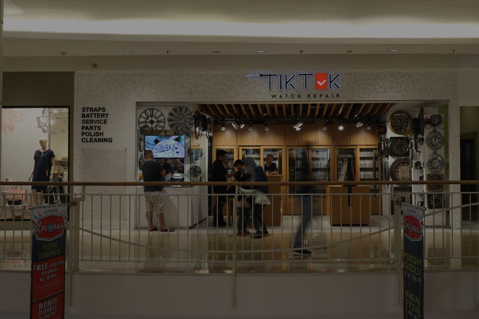 Tiktok Summarecon Mall Serpong