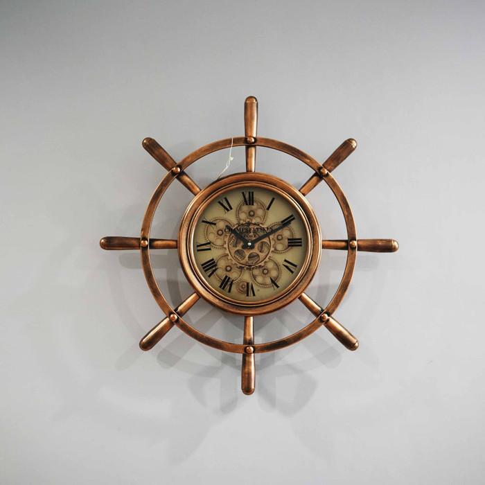 Jam Dinding Clock Diameter 72 cm - Rose Gold