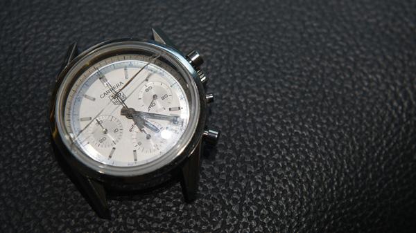 Broken Watch Glass Tag Heuer